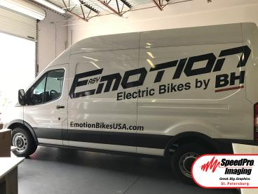 Emotion Bikes Vehicle Graphics