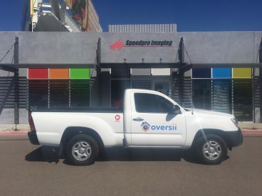 Vehicle Decals for Security Truck