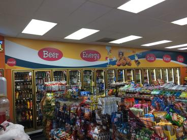 Love how we were able to help Coca Cola rebrand an independently owned C-Store in Highpoint, NC!