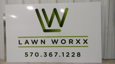 LW Panel mounted sign