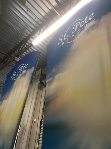 Stretch Fabric Tradeshow Counter