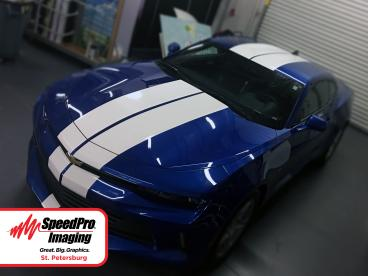 Custom Camero Racing Stripes