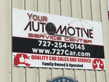 Aluminum Exterior Signage