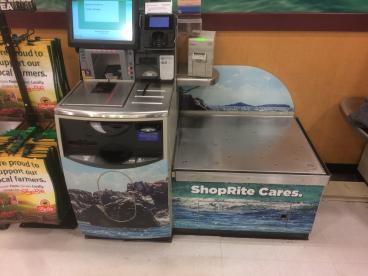 Shop Rite Check-out Kiosk
