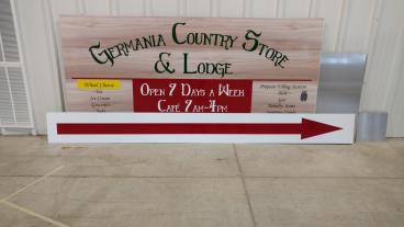 Germania Country Store Signage