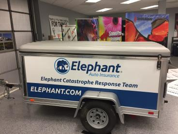 Wraps for your Vehicles - Trailer Wrap!
