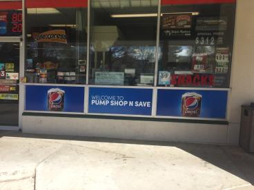 Gas Station Window Graphics