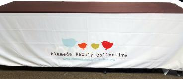 Alameda Family Collective table cover