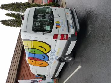 Van wrap for Encompass in North Bend, WA