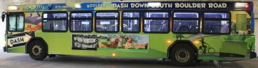 RTD Boulder Colorado Bus Wrap by SpeedPro Imaging of Denver
