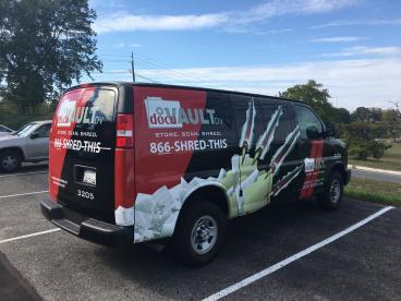 Cargo Van Wrap l South Jersey l SpeedPro Imaging