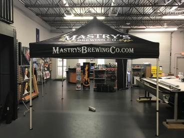 Mastry's Brewing Company Tent