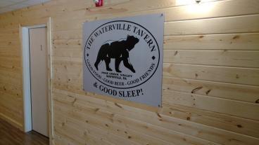 Waterville Tavern Wall Mount Logo