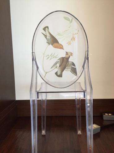 Decorative Chair Graphic, Dallas, TX