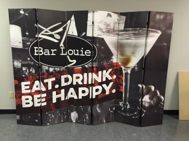 Bar Louie Point of Sale Custom Graphic