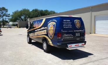 Houston Police Foundation Wrap