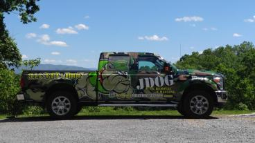 Full Truck Wrap, Including Window Perf