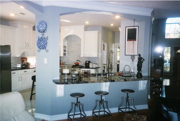 A Recent Kitchen Remodeling Job In The Katy TX Area