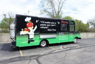 Food Truck Wrap for PastaTivo