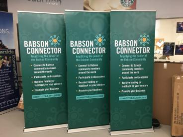 Babson College Connector Banners