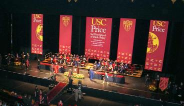 USC Sol Price School of Public Policy at the Shrine