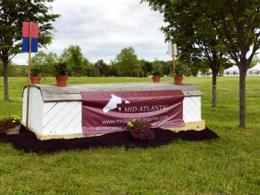 The Mid-Atlantic Equine Medical Center of New Jersey Outdoor Banner