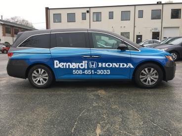 Bernardi Honda Vehicle Wrap