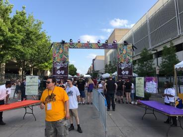 Wildflower Arts and Music Festival Gateway