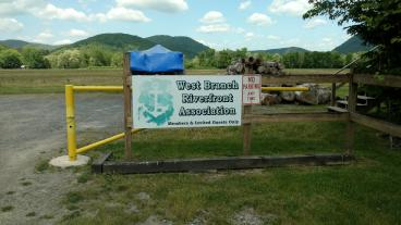 West Branch Riverfront Associationn Sign