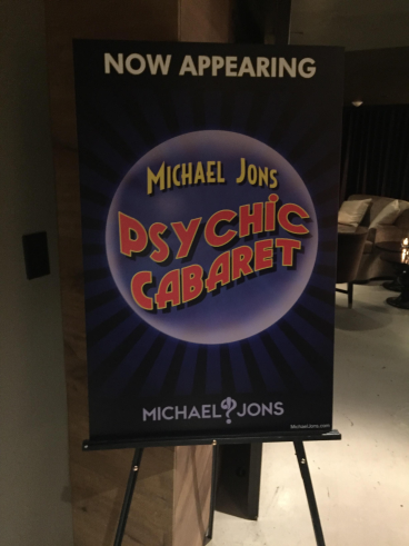 Event Signage for Michael Jons in Georgetown