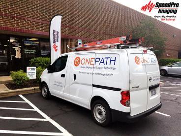 Brand New Van Graphics for OnePath Vehicle
