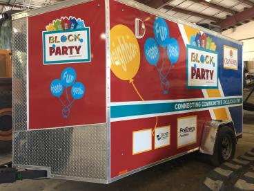 Cranberry Township Block Party Trailer