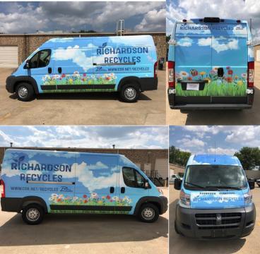 Richardson Recycles Van