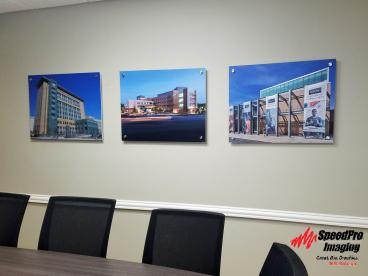 New PVC prints for Calyx Engineers and Consultants