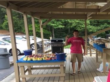 Memorial Day Cookout in East Cobb Neighborhood