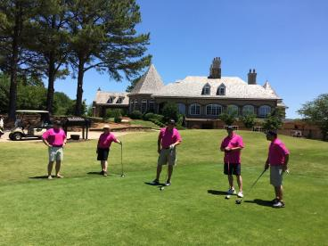 Guns & Hoses Memorial Golf Tournament at the St Ives Country Club in Johns Creek
