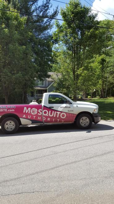 Another satisfied customer with Mosquito Authority in North Kingstown