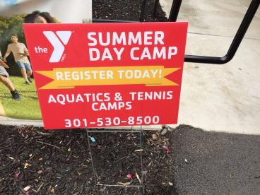 YMCA Best Summer Ever Yard Signs