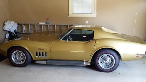 This is a Corvette Sting Ray that's Bloomington Gold Certified.