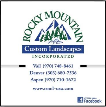 Rocky Mountain Custom Landscapes box trucks wrapped by speedprodenver.net