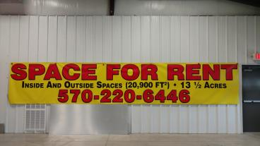 Space For Rent Banner - X Large