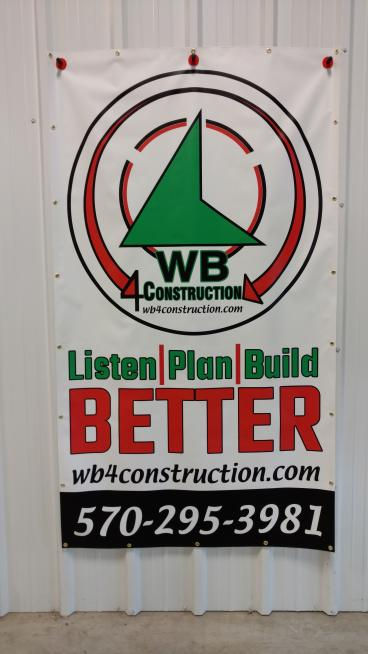 WB4 Construction Banner