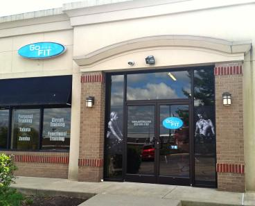 Go Fit Store Front in Lexington, KY