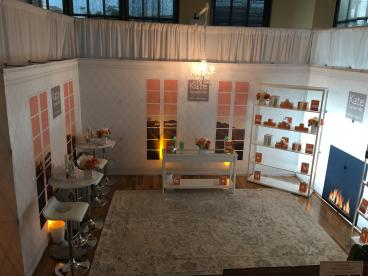 Hopup walls for Victoria Smith Events at Nathan's Event Center in Plano, Texas.