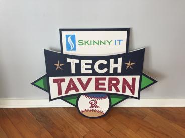 Frisco Roughriders Tech Tavern Sign!