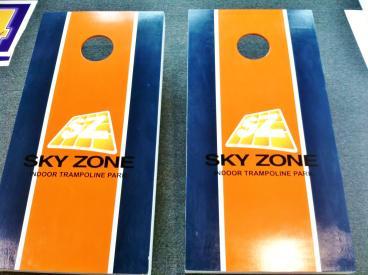 Corn Hole Boards, Sky Zone Westlake