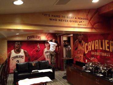 Quicken Loans Arena: Owners Suite - Installation