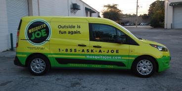 Mosquito Joe Car Wrap