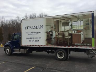 Edelman Home Box Truck Wrap