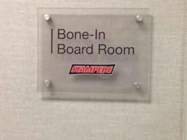 Board Room Sign - Hinsdale, IL